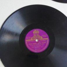 Discos de pizarra: DISCOS EN BAKELITA CON MÚSICA DE LOS AÑOS 30 CINCO UNIDADES. Lote 190218441