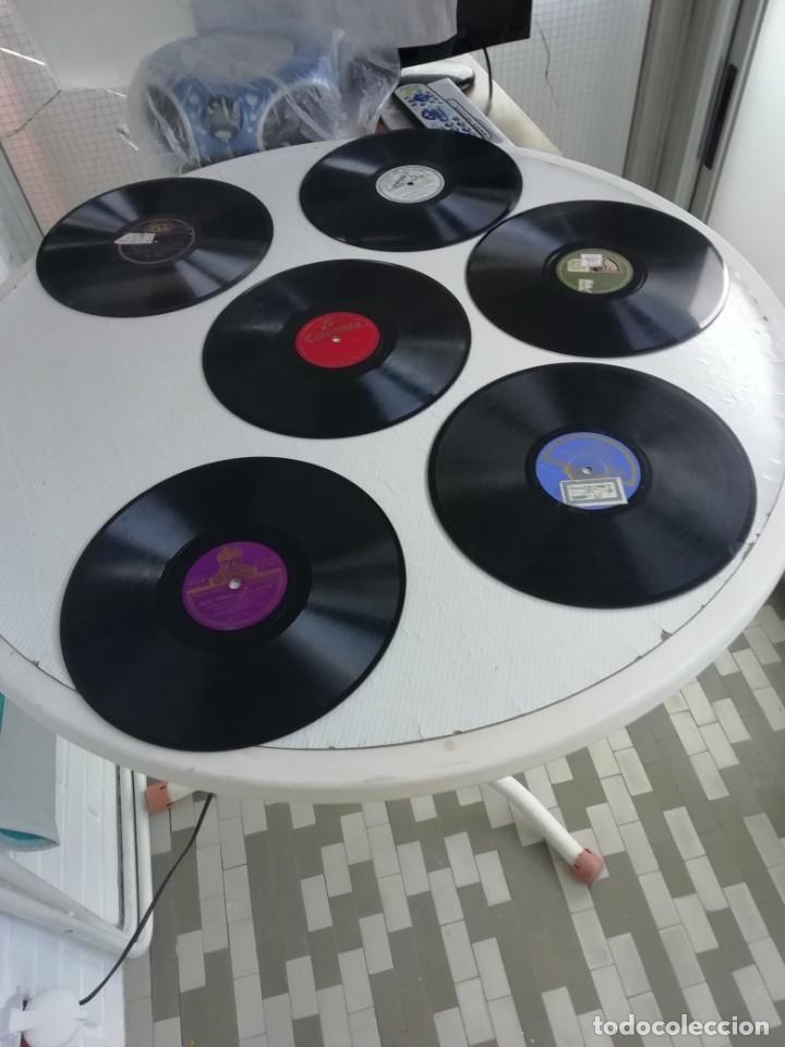 Discos de pizarra: Discos en bakelita con música de los años 30 Cinco unidades - Foto 3 - 190218441