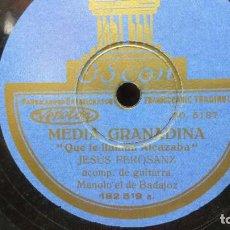 Discos de pizarra: DISCO PIZARRA FLAMENCO. Lote 190233012