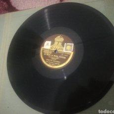 Discos de pizarra: LE BESO LA MANO SEÑORA. EL AGUILON. MARCOS REDONDO. CAPDEVILA. ODEON. Lote 190623218