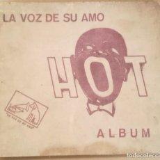 Discos de pizarra: ALBUM CON 7 DISCOS DE GRAMÓFONO. HOT JAZZ. LA VOZ DE SU AMO. . Lote 190717371