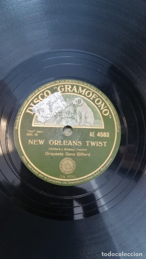 Discos de pizarra: Album con 7 discos de Gramófono. Hot Jazz. La Voz de su amo. - Foto 3 - 190717371