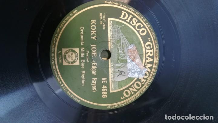 Discos de pizarra: Album con 7 discos de Gramófono. Hot Jazz. La Voz de su amo. - Foto 5 - 190717371