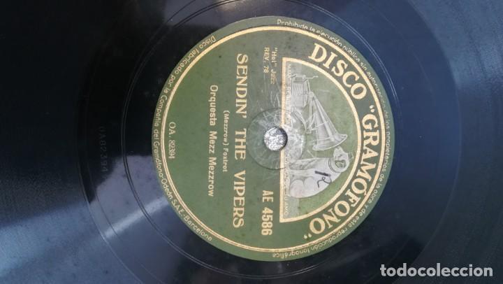 Discos de pizarra: Album con 7 discos de Gramófono. Hot Jazz. La Voz de su amo. - Foto 6 - 190717371