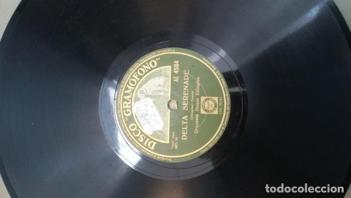 Discos de pizarra: Album con 7 discos de Gramófono. Hot Jazz. La Voz de su amo. - Foto 8 - 190717371