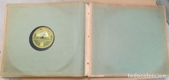 Discos de pizarra: Album con 7 discos de Gramófono. Hot Jazz. La Voz de su amo. - Foto 9 - 190717371