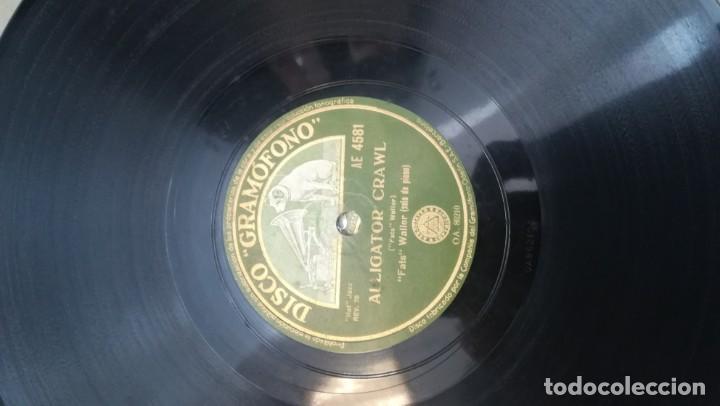 Discos de pizarra: Album con 7 discos de Gramófono. Hot Jazz. La Voz de su amo. - Foto 10 - 190717371