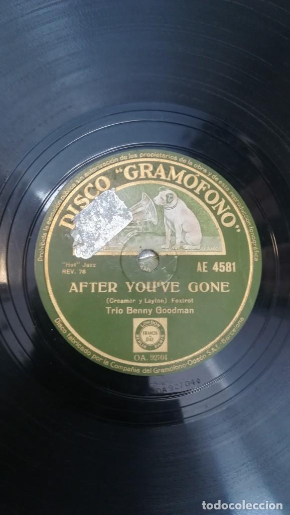 Discos de pizarra: Album con 7 discos de Gramófono. Hot Jazz. La Voz de su amo. - Foto 11 - 190717371