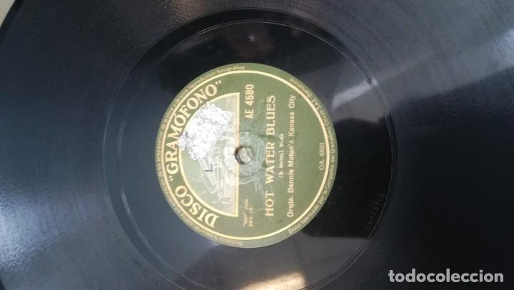 Discos de pizarra: Album con 7 discos de Gramófono. Hot Jazz. La Voz de su amo. - Foto 16 - 190717371