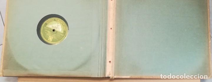 Discos de pizarra: Album con 7 discos de Gramófono. Hot Jazz. La Voz de su amo. - Foto 20 - 190717371