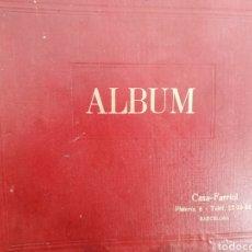 Discos de pizarra: ÀLBUM DISCOS DE PIZARRA CON LOTE 6 DISCOS. Lote 191143496