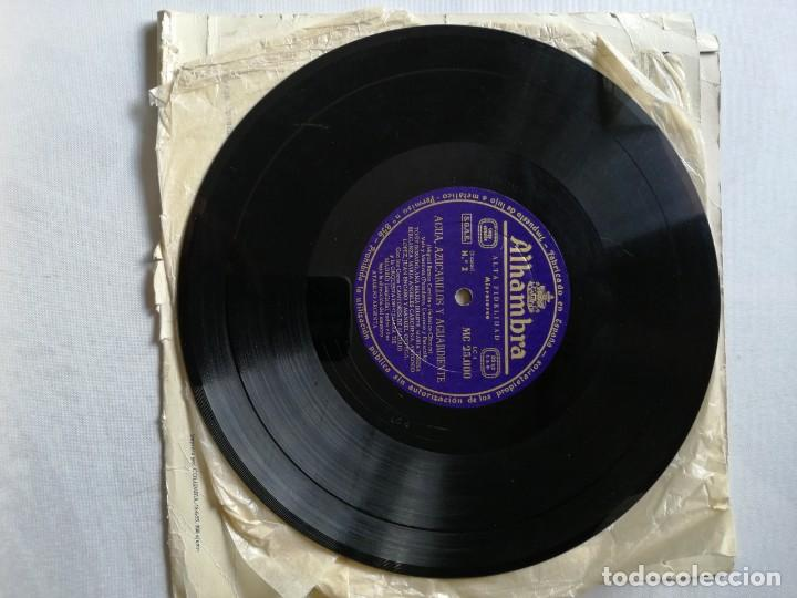 Discos de pizarra: LOTE DE DISCOS DE PIZARRA. - Foto 3 - 191350643