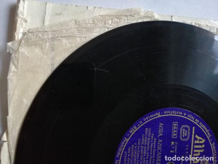 Discos de pizarra: LOTE DE DISCOS DE PIZARRA. - Foto 4 - 191350643