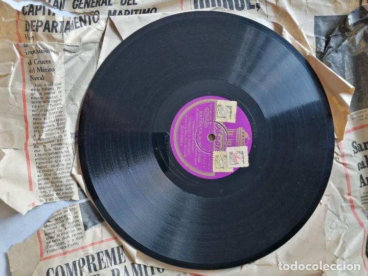 Discos de pizarra: LOTE DE DISCOS DE PIZARRA. - Foto 13 - 191350643