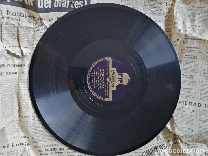 Discos de pizarra: LOTE DE DISCOS DE PIZARRA. - Foto 14 - 191350643