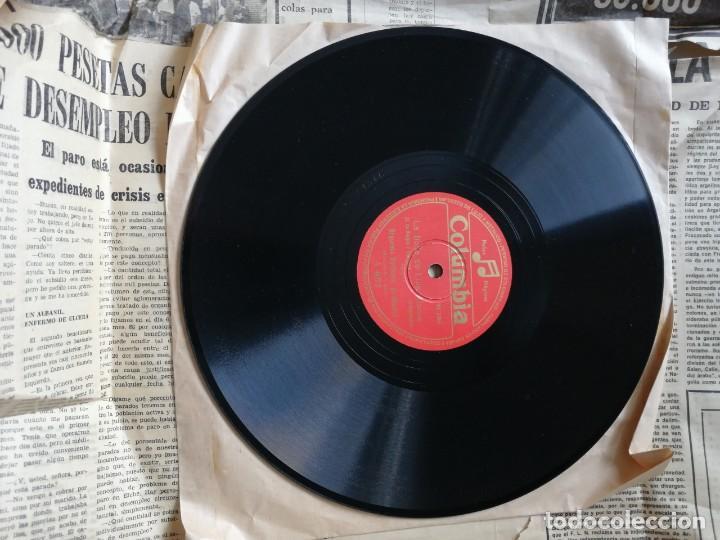 Discos de pizarra: LOTE DE DISCOS DE PIZARRA. - Foto 18 - 191350643