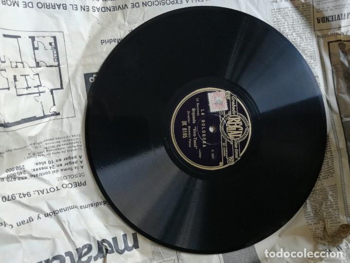 Discos de pizarra: LOTE DE DISCOS DE PIZARRA. - Foto 22 - 191350643