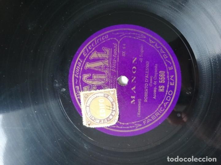 Discos de pizarra: LOTE DE DISCOS DE PIZARRA. - Foto 31 - 191350643