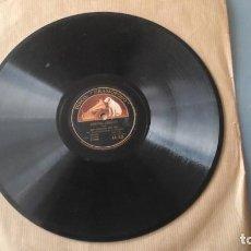 Discos de pizarra: RAMONA (WAYNE) VALS POR DOLORES DEL RIO CON ACOMP. DE ORQUESTA - DISCO DE PIZARRA. Lote 191358577