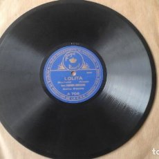 Discos de pizarra: DISCO DE PIZARRA - FLORENCIO CONSTANTINO - LOLITA (SERENATA) - EL BARBERO DE SEVILLA (ECCO RIDENTE... Lote 191358793