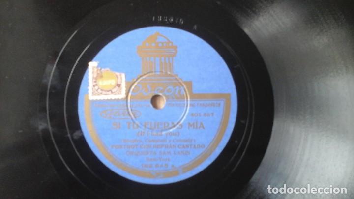 Discos de pizarra: DISCO PIZARRA FOXTROT Dorsey Brothers Orchestra por una cara y Sam Lanin Orchestra por la otra - Foto 4 - 191359807