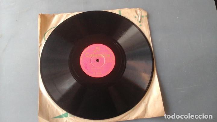 DISCO PIZARRA DE 10 PULGADAS JUANITO VALDERRAMA - LA FERIA DE OSUNA / CANTIÑAS CHICLANERAS (Música - Discos - Pizarra - Solistas Melódicos y Bailables)