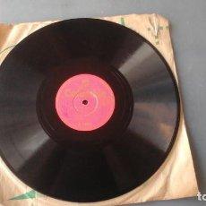 Discos de pizarra: DISCO PIZARRA DE 10 PULGADAS JUANITO VALDERRAMA - LA FERIA DE OSUNA / CANTIÑAS CHICLANERAS. Lote 191367727