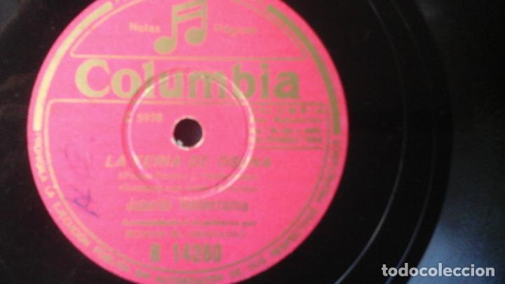 Discos de pizarra: DISCO PIZARRA de 10 pulgadas Juanito Valderrama - La Feria de Osuna / Cantiñas Chiclaneras - Foto 2 - 191367727