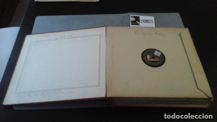 Discos de pizarra: Archivador de discos de Pizarra Casa Zato para 12 discos, con 16 discos dentro - Foto 2 - 191384520