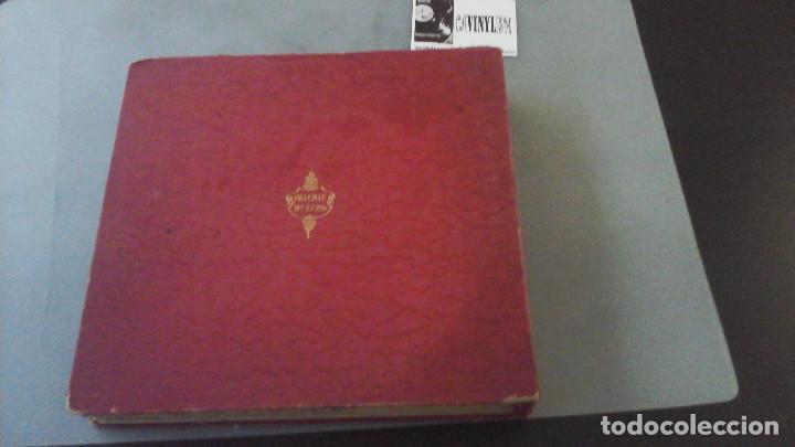 Discos de pizarra: Archivador de discos de Pizarra Casa Zato para 12 discos, con 16 discos dentro - Foto 4 - 191384520