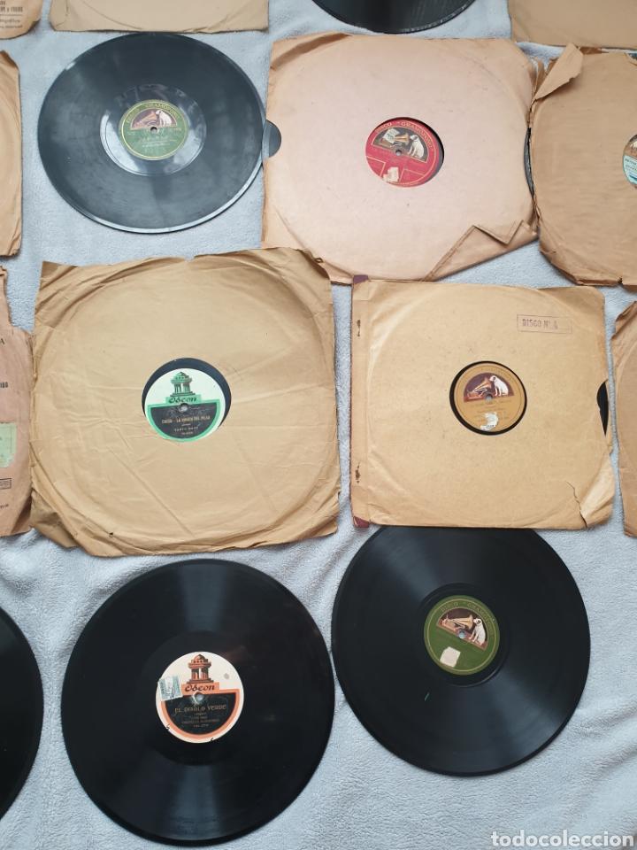 Discos de pizarra: LOTE 15 DISCOS DE PIZARRA 78 RPM - Foto 2 - 191440452