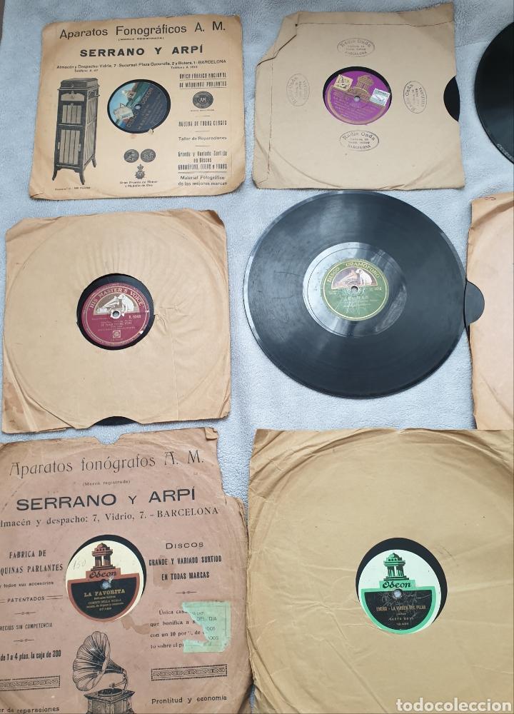 Discos de pizarra: LOTE 15 DISCOS DE PIZARRA 78 RPM - Foto 4 - 191440452