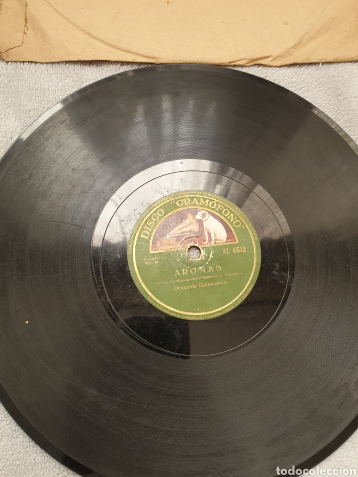 Discos de pizarra: LOTE 15 DISCOS DE PIZARRA 78 RPM - Foto 11 - 191440452