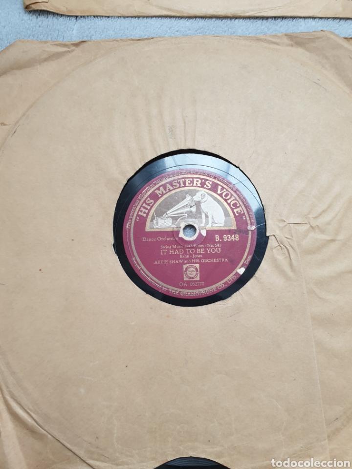 Discos de pizarra: LOTE 15 DISCOS DE PIZARRA 78 RPM - Foto 15 - 191440452