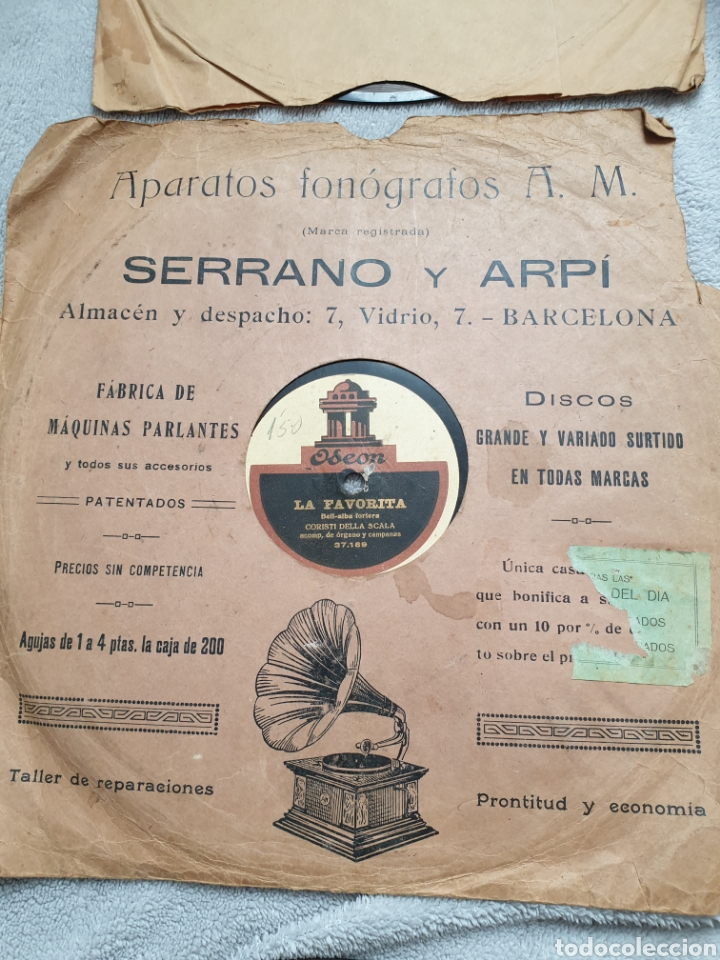 Discos de pizarra: LOTE 15 DISCOS DE PIZARRA 78 RPM - Foto 16 - 191440452