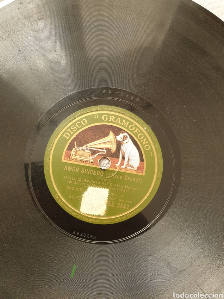 Discos de pizarra: LOTE 15 DISCOS DE PIZARRA 78 RPM - Foto 17 - 191440452