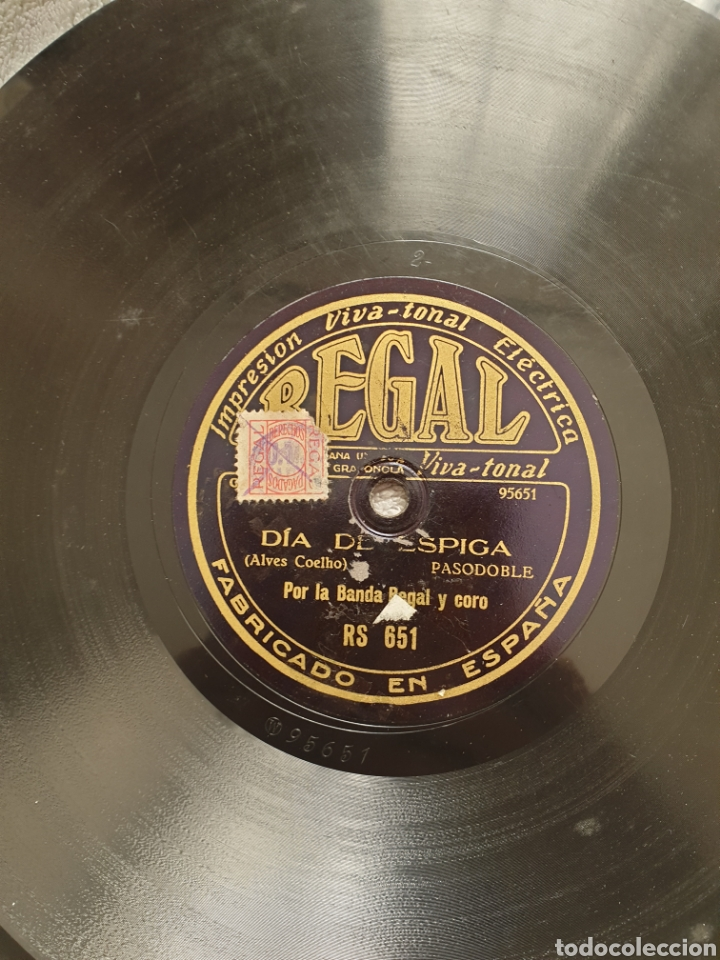 Discos de pizarra: LOTE 15 DISCOS DE PIZARRA 78 RPM - Foto 19 - 191440452