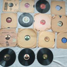 Discos de pizarra: LOTE 15 DISCOS DE PIZARRA. Lote 191440452