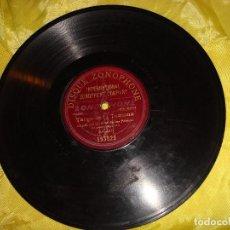 Discos de pizarra: LA NIÑA DE LOS PEINES. TANGO DE LA TONTONA / PETENERAS. DISQUE ZONOPHONE. PIZARRA. Lote 191631570