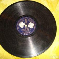 Discos de pizarra: CARMEN FLORES. CHULAPONA / CHULONA. DISCOS ODEON. PIZARRA. Lote 191632278