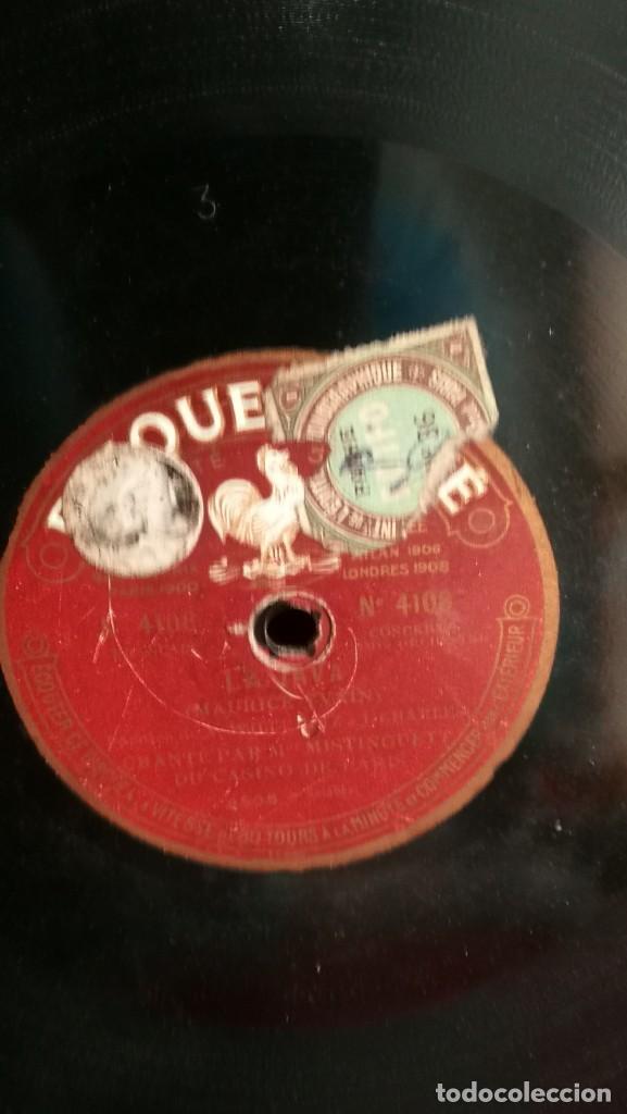 Discos de pizarra: DISCOS DE PIZARRA PATHE DE 30 CM. 5 UNIDADES. BUEN ESTADO, VER FOTOS Y TITULOS - Foto 2 - 191779537