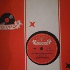 Discos de pizarra: DISCO PIZARRA 78 RPM -WYLLI SCHNEIDER- DU BRAUCHTS NUR/MAN MÜSTE. Lote 192052905