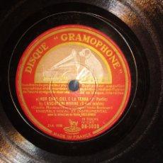 Discos de pizarra: NADIA BOULANGER DIRIGE EL ENSAMBLE VOCAL E INSTRUMENTAL, MÚSICA DE MONTEVERDI. Lote 192603212