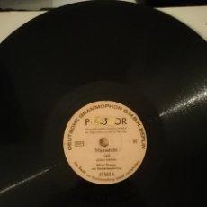 Discos de pizarra: DISCO DE PIZARRA 78RPM MIMI THOMA MAMATSCHI LIED. CANCION DE LA LISTA DE SCHINDLER. Lote 192842117