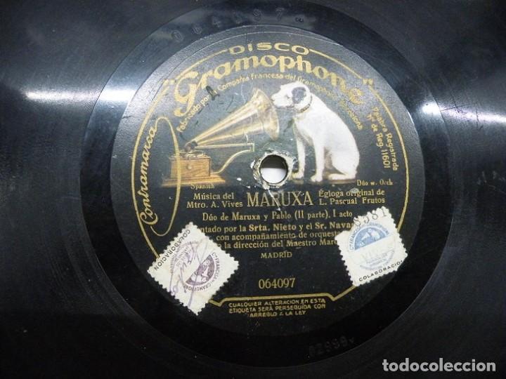 Discos de pizarra: 2 discos de pizarra. (elcofredelabuelo) - Foto 2 - 193371550