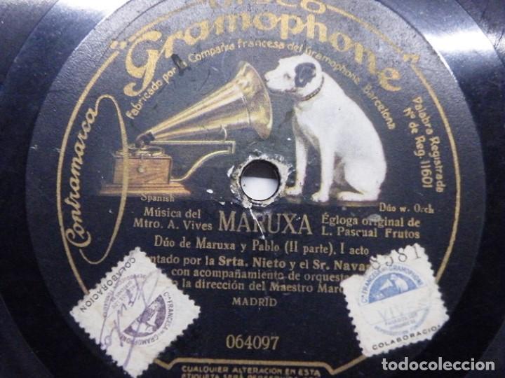 Discos de pizarra: 2 discos de pizarra. (elcofredelabuelo) - Foto 3 - 193371550