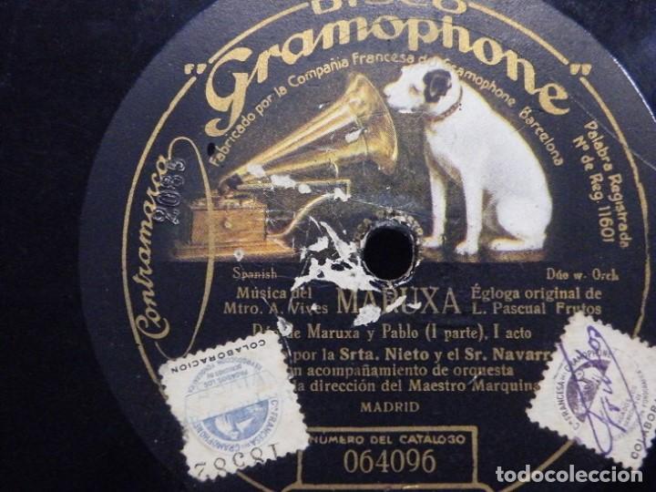 Discos de pizarra: 2 discos de pizarra. (elcofredelabuelo) - Foto 7 - 193371550