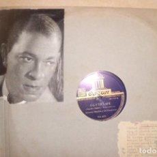 Discos de pizarra: GRAN ALBUM DE PIZARRA, ANTONIO MACHIN, 12 DISCOS. Lote 193853280