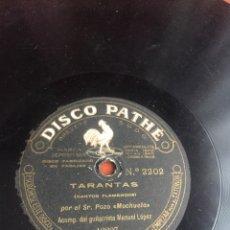 Discos para gramofone: TARANTAS POR EL MOCHUELO. Lote 193940753