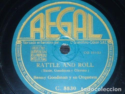 DISCO 78 RPM - REGAL - BENNY GOODMAN - ORQUESTA - ME TRAJISTE UN NUEVO AMOR - JAZZ - PIZARRA (Música - Discos - Pizarra - Jazz, Blues, R&B, Soul y Gospel)